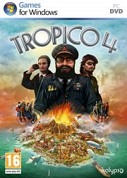 Car�tula oficial de Tropico 4 PC