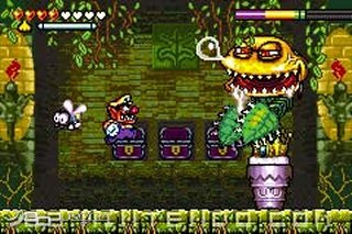 how to kill boss on wario land 4