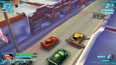 Cars 2 juego psp 3djuegos - Jeux de mcqueen gratuit ...