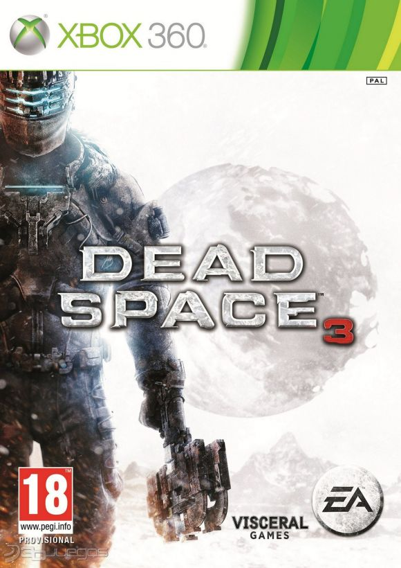 Car�tula de Dead Space 3
