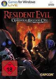 Cartula oficial de Resident Evil: Raccoon City PC