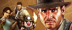 Jugando a ser Indiana Jones