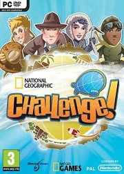 Cartula oficial de National Geographic Challenge! PC