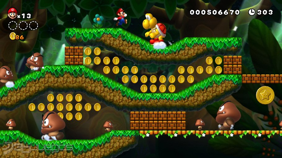 New Super Mario Bros U - Impresiones E3 2012