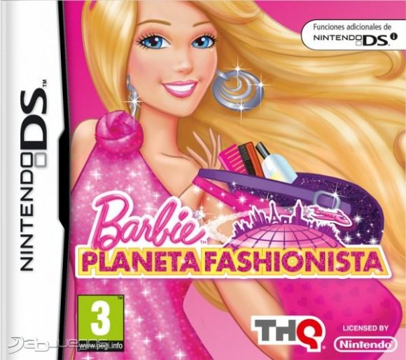 Car�tula de Barbie: Planeta Fashionista