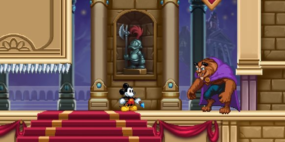 Epic Mickey Mundo Misterioso (Nintendo 3DS)
