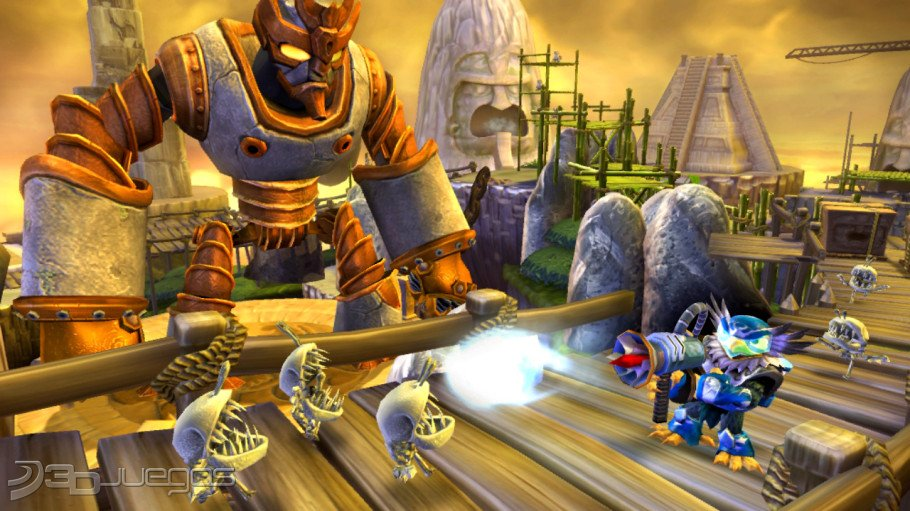 Skylanders Giants - An�lisis