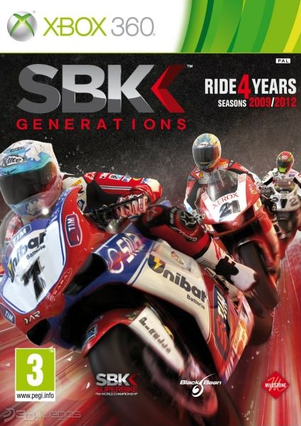 Carátula de SBK Generations