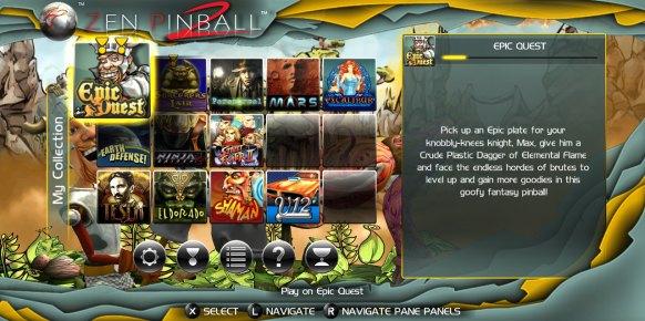 Zen Pinball 2 (Nintendo Wii U)