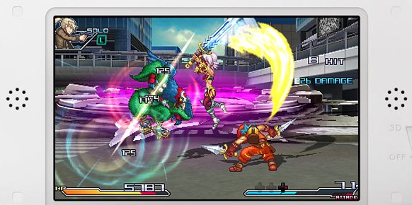 Project X Zone A Lethal Surprise (Nintendo 3DS)