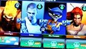 PlayStation All-Stars Battle - Gameplay: Menú para Cuatro