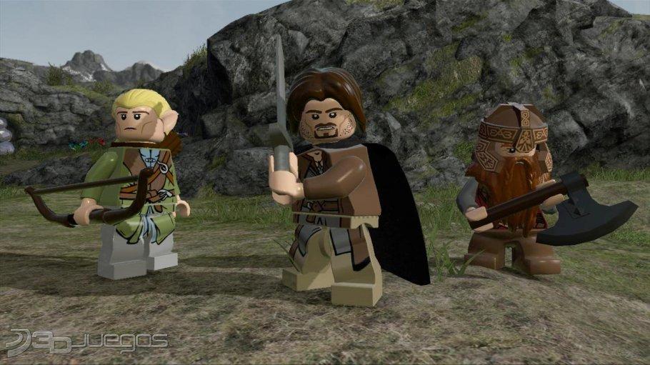 LEGO El Señor de los Anillos - Impresiones
