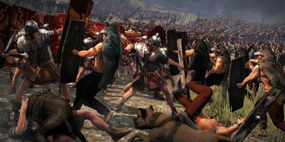BATALLA DE TEUTOBURGO - Rome II total war