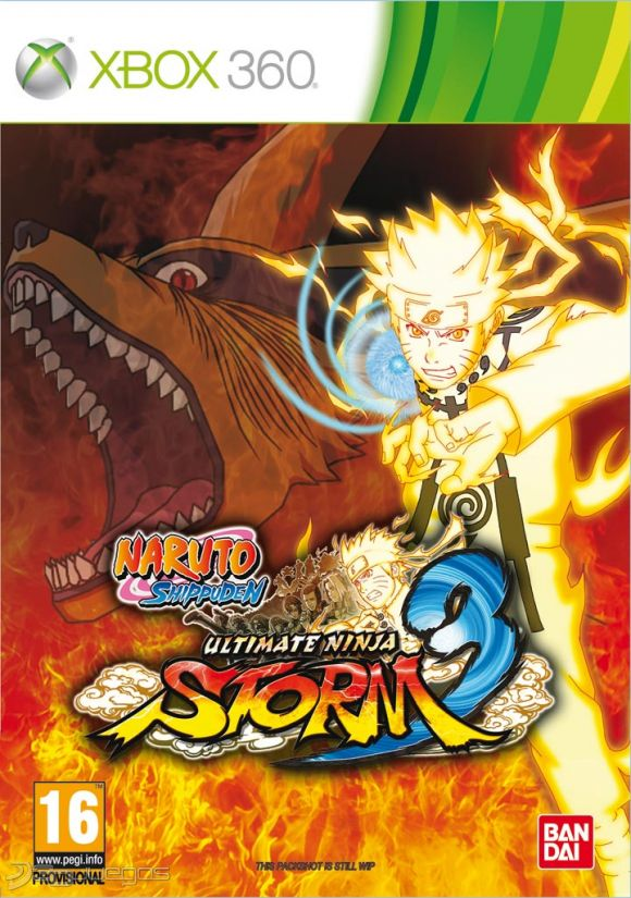 Naruto shipuden ultimate ninja STORM 3 RGH-JTAG PL-UL