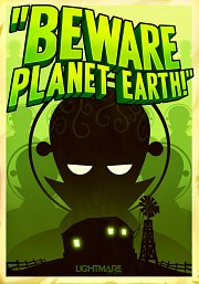 Car�tula oficial de Beware Planet Earth! PC