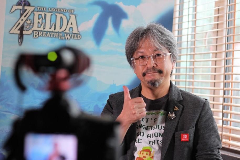 Zelda Breath of the Wild: Zelda: Breath of the Wild es el juego más grande de Nintendo. Eiji Aonuma nos lo cuenta