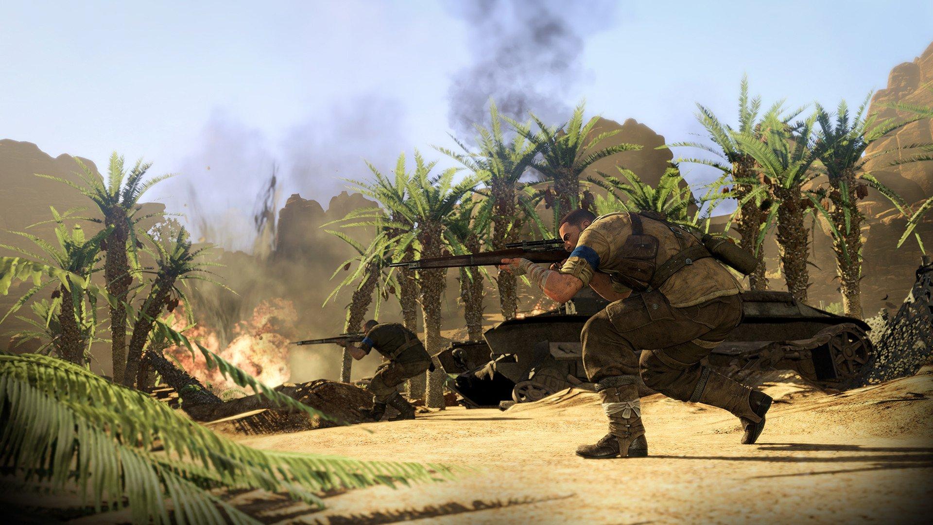 sniper elite 3 2537593 تصاویر جدیدی از Sniper Elite 3 منتشر شد : بیابان گردی در آفریقا
