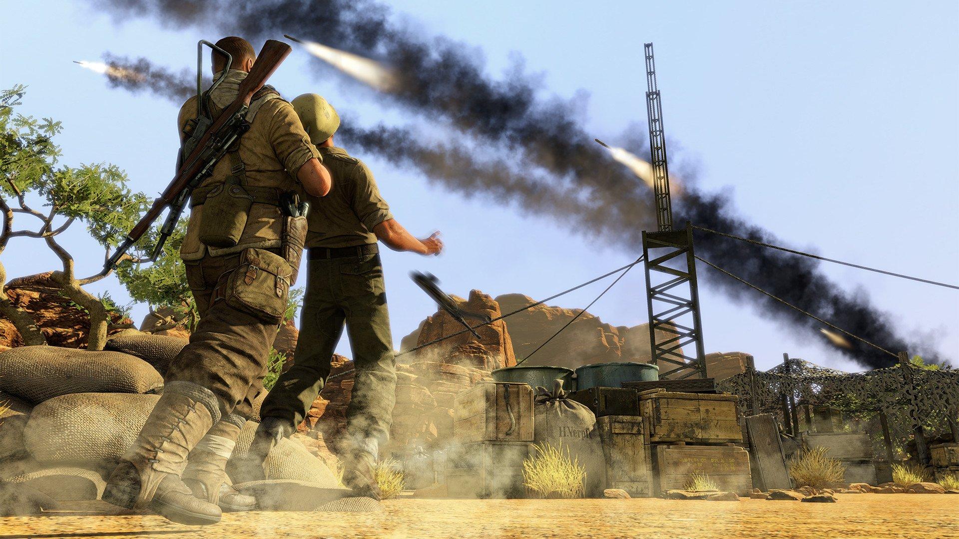 sniper elite 3 2537597 تصاویر جدیدی از Sniper Elite 3 منتشر شد : بیابان گردی در آفریقا