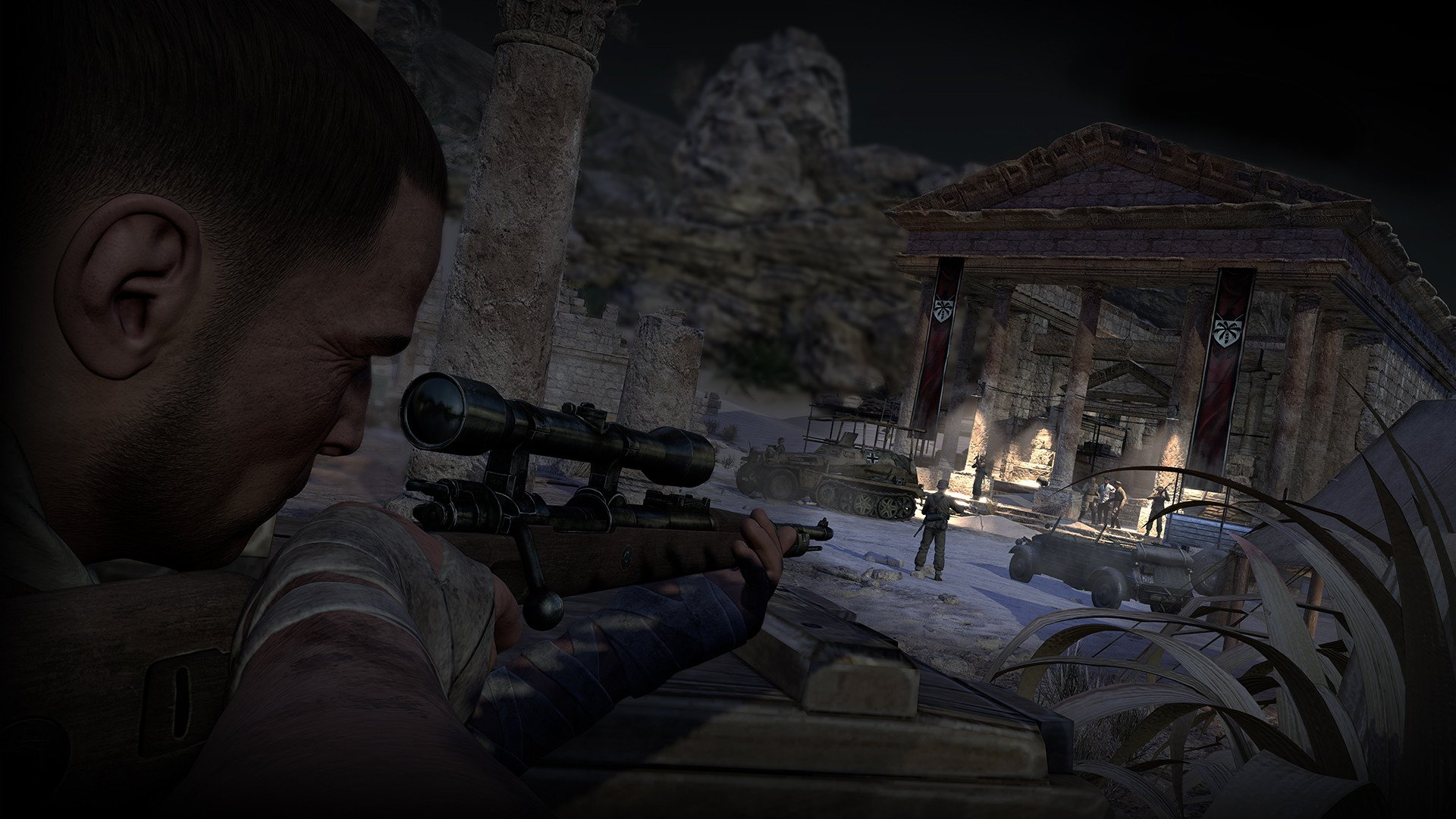 sniper elite 3 2537601 تصاویر جدیدی از Sniper Elite 3 منتشر شد : بیابان گردی در آفریقا
