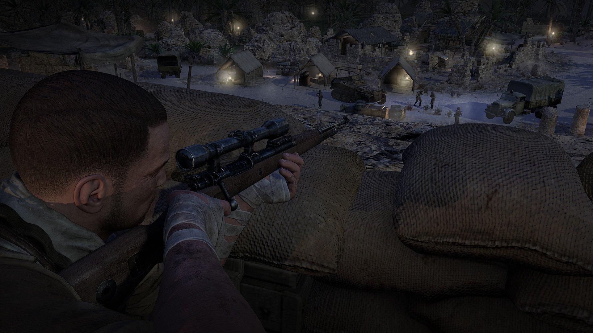 sniper elite 3 2537609 تصاویر جدیدی از Sniper Elite 3 منتشر شد : بیابان گردی در آفریقا