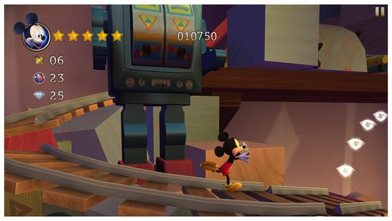 Castle of illusion - An�lisis