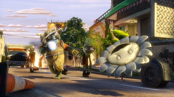 Plants vs. Zombies Garden Warfare: Plants vs. Zombies Garden Warfare: Impresiones jugables