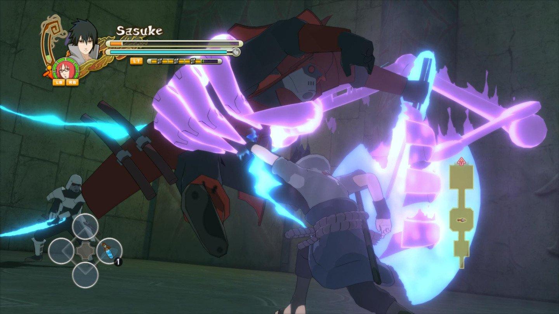 how to play naruto ultimate ninja storm 3
