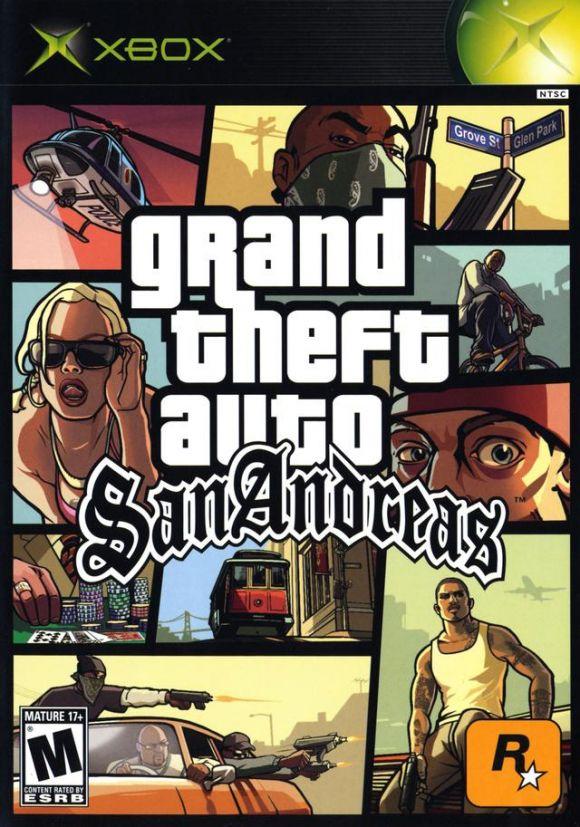 Grand Theft Auto San Andreas Para Xbox 3djuegos