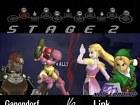 Super Smash Bros. Melee - Pantalla
