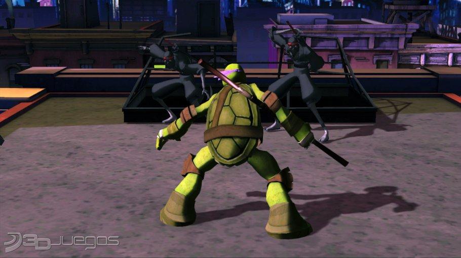 Imgenes de Nickelodeons Teenage Mutant Ninja Turtles para Wii
