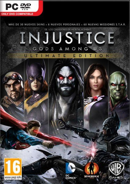 Injustice Gods Among Us - Ultimate Edition - Windows (select) Video Games