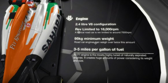 F1 Challenge análisis