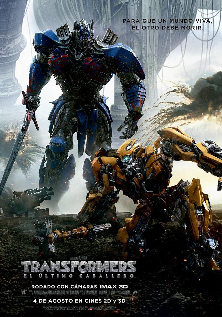 Te invitamos al preestreno de la película Transformers: El Último Caballero