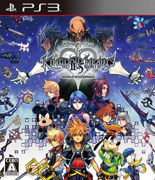 Kingdom Hearts Hd 2 5 Remix Para Ps3 3djuegos