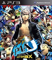 Carátula de Persona 4: The Ultimax Ultra - PS3