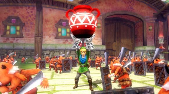 Hyrule Warriors Wii U