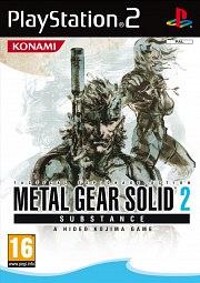 Carátula de Metal Gear Solid 2: Substance - PS2