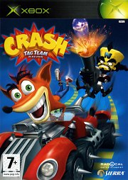 Carátula de Crash Tag Team Racing - XBOX