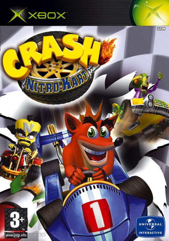 Normal Games For Xbox : Crash nitro kart para xbox djuegos