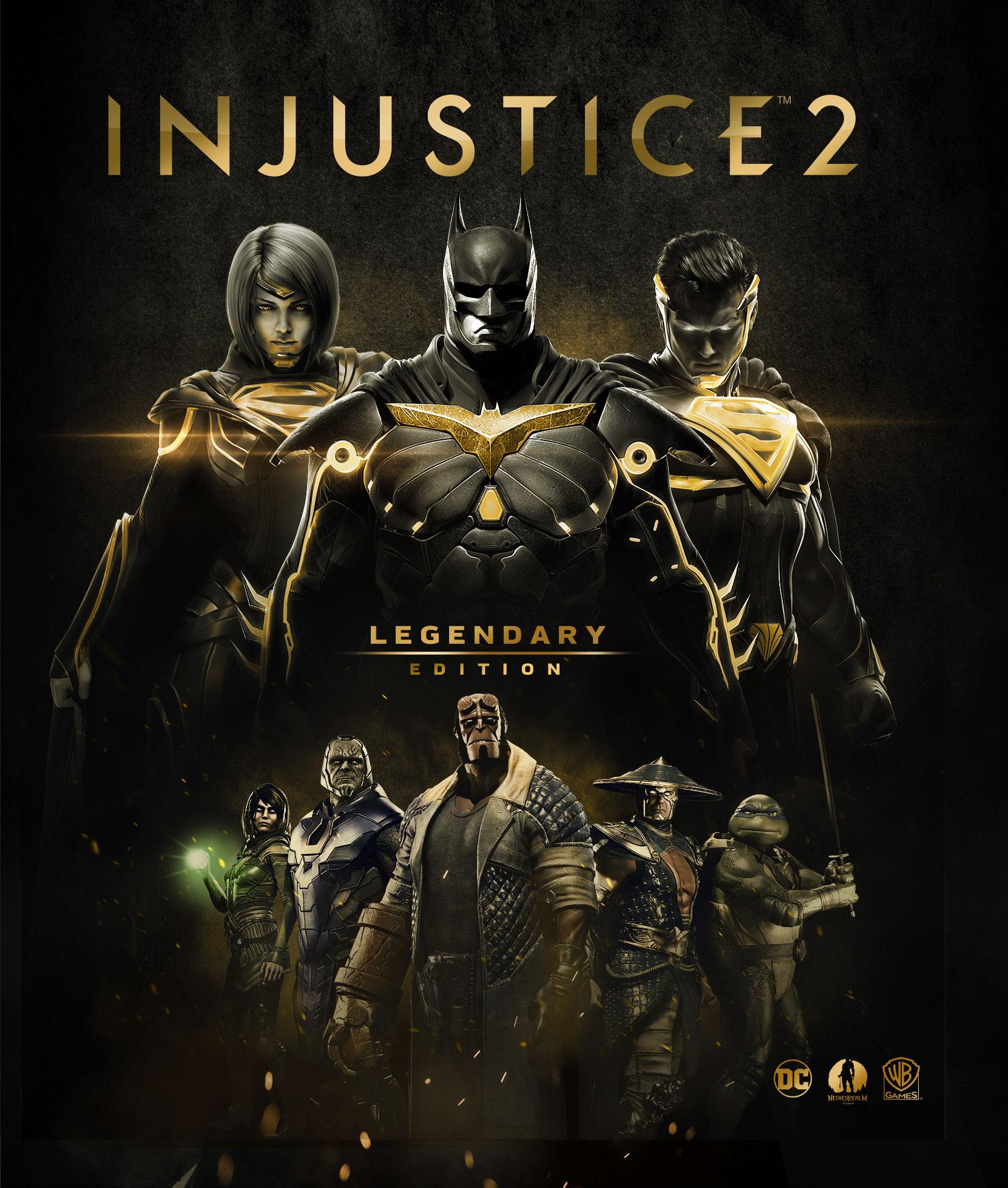 ¡Es oficial! Injustice 2 Legendary Edition fija su lanzamiento en marzo