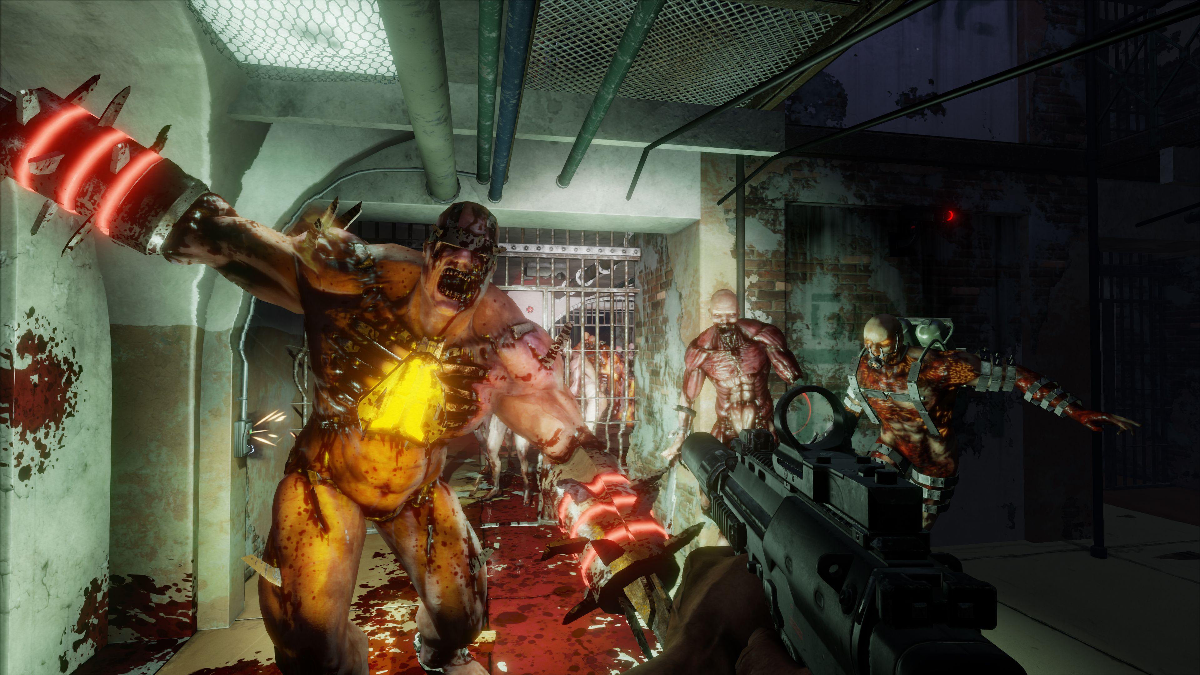 Killing Floor 2 Ira A 1800p En Xbox One X Para Preservar La Fluidez