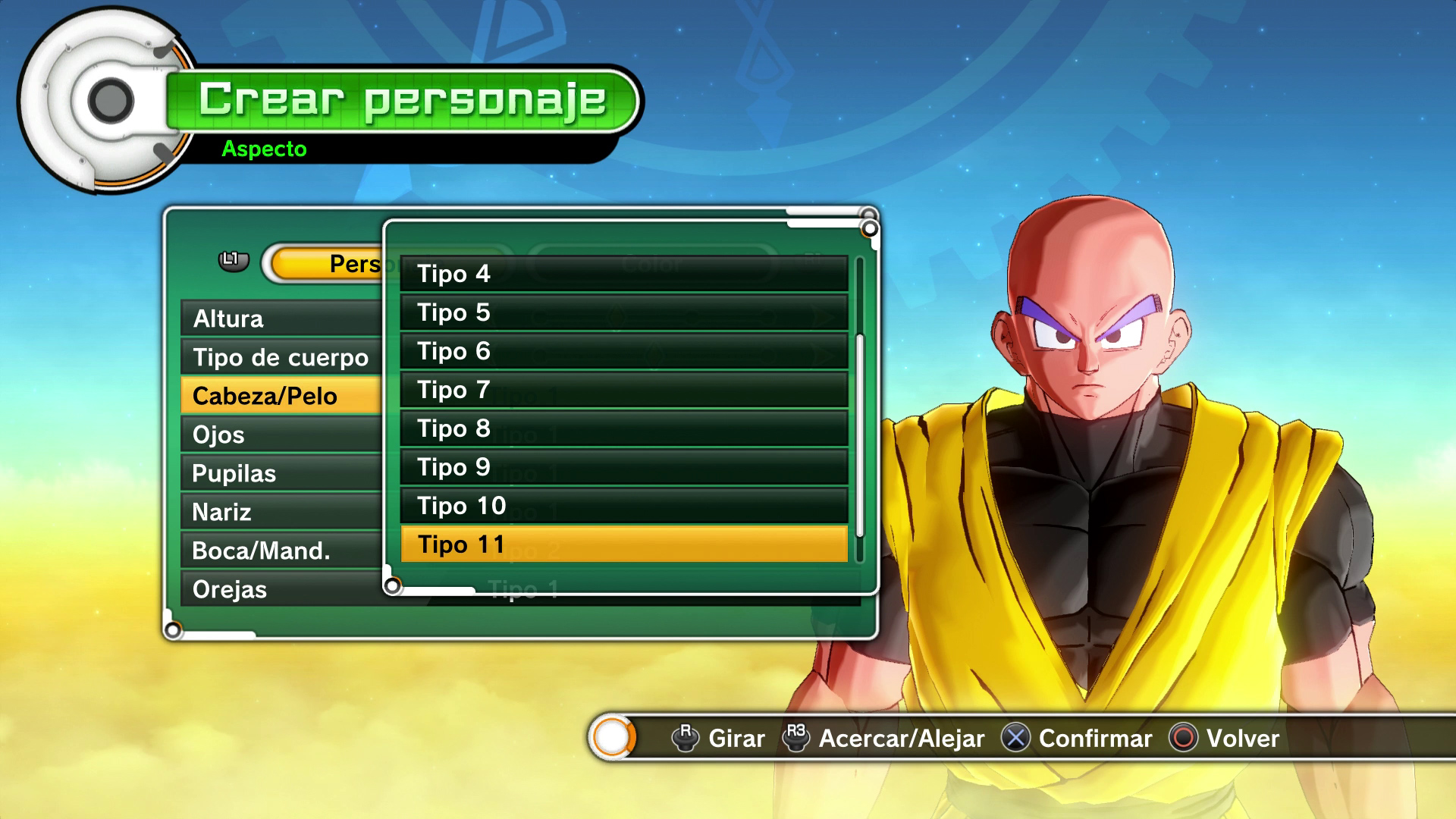 Gu a dragon ball xenoverse introducci n y prueba de for Chambre dragon ball z