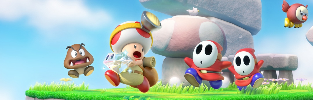 Análisis Captain Toad Treasure Tracker