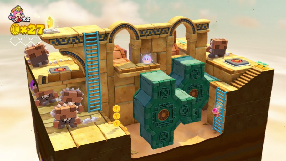 Captain Toad Treasure Tracker: Captain Toad: Treasure Tracker, el regreso de un tesoro jugable