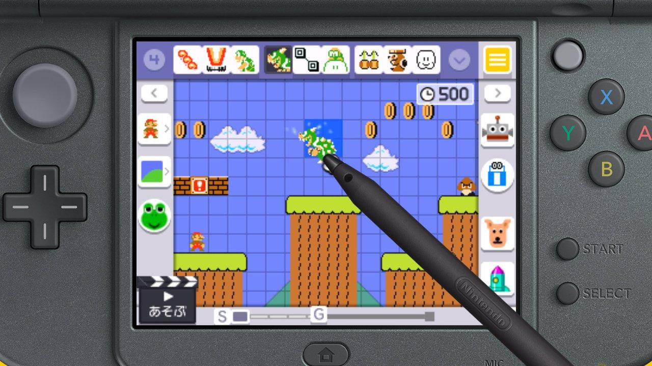 Nintendo Prescindira Del 3d En Super Mario Maker Para Nintendo 3ds