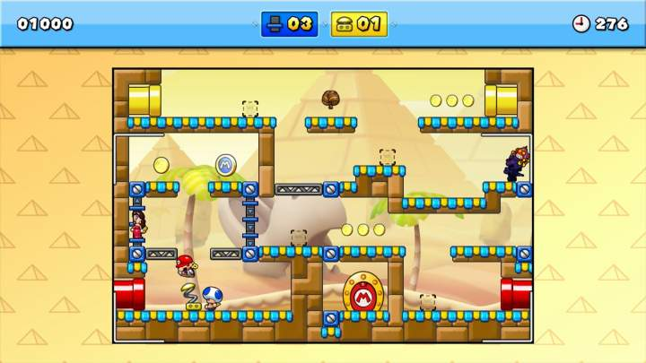 Mario vs Donkey Kong Tipping Stars - Pantalla
