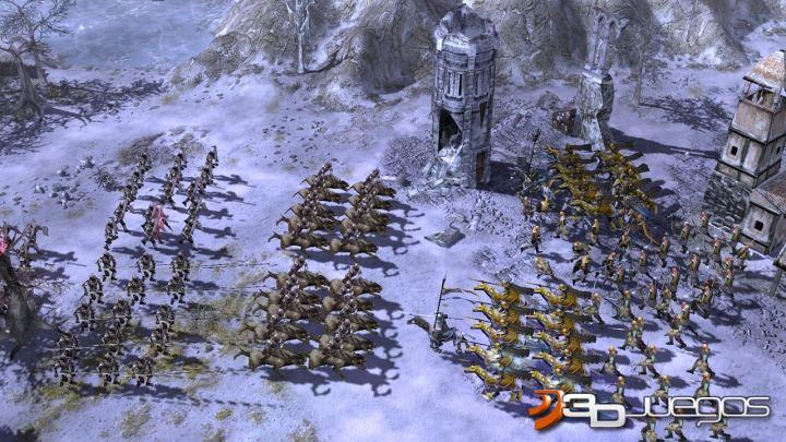 juego senor anillos batalla tierra media: