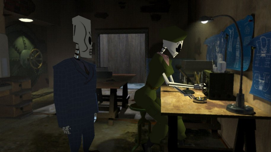 Grim Fandango Remastered PS4