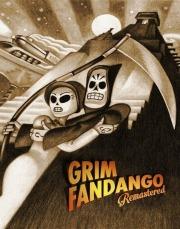 Carátula de Grim Fandango Remastered - Vita
