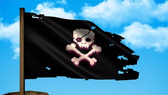Video Pixel Piracy, Anuncio en Consolas